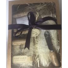 KIT Presente de Natal   Rolha de Vinho