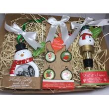 KIT Presente de Natal Boneco de Neve