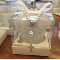 f797853065f Vela Branca Perfumada com Laço Chanel